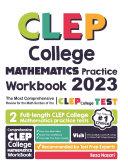 CLEP College Mathematics Practice Workbook Pdf/ePub eBook