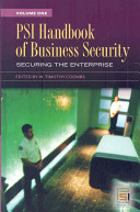 PSI Handbook of Business Security 2 Volume Set Book