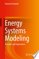 Energy Systems Modeling