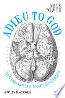 Adieu To God Book PDF