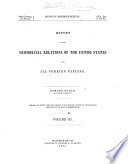 Commercial Relations of the United States with Foreign Countries