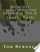 26 County Casualties of the Great War Volume III