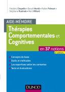 Aide-mémoire - Thérapies comportementales et cognitives - 2e éd.