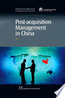 Post Acquisition Management in China