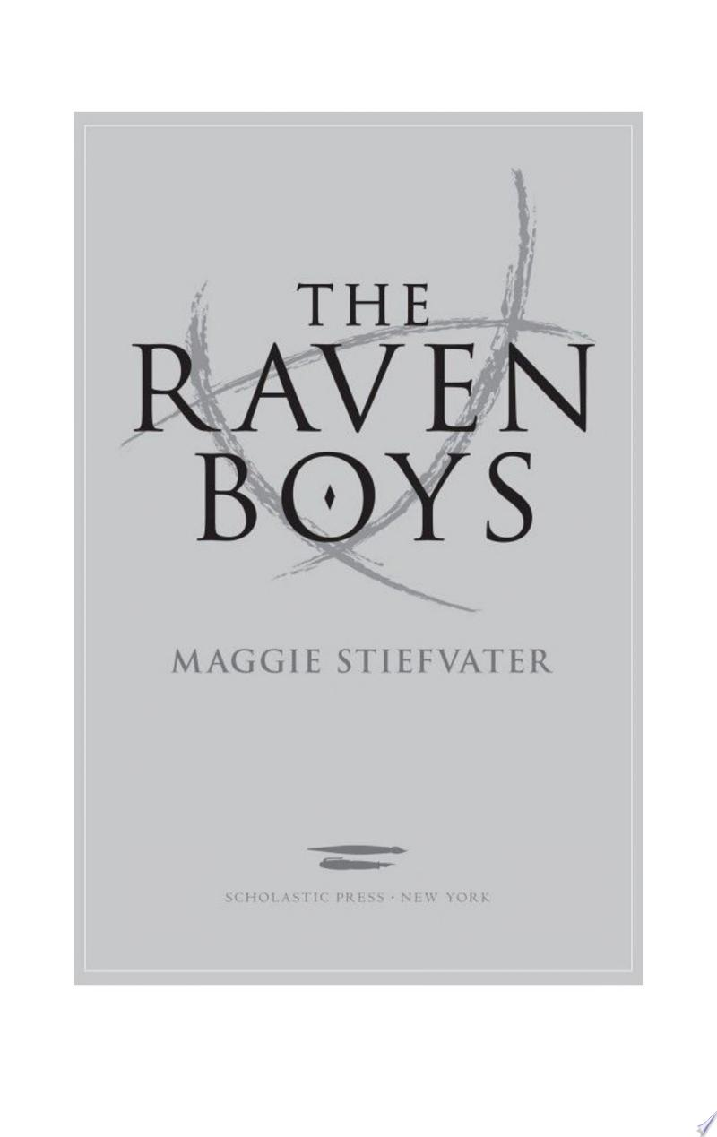 The Raven Boys (The Raven Cycle, Book 1) image