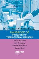 ESMO Handbook of Principles of Translational Research
