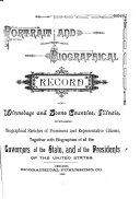 Portrait and Biographical Record of Winnebago and Boone Counties  Illinois