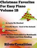 Christmas Favorites for Easy Piano Volume 1 B