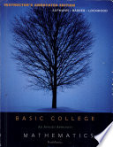 """Basic College Mathematics: An Applied Approach"" by Richard N. Aufmann, Vernon C. Barker, Joanne S. Lockwood"