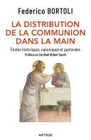 Pdf La distribution de la communion dans la main Telecharger