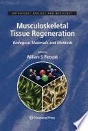 Musculoskeletal Tissue Regeneration Book