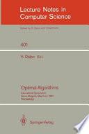 Optimal Algorithms