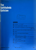The Ophthalmic Optician