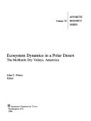 Ecosystem Dynamics in a Polar Desert