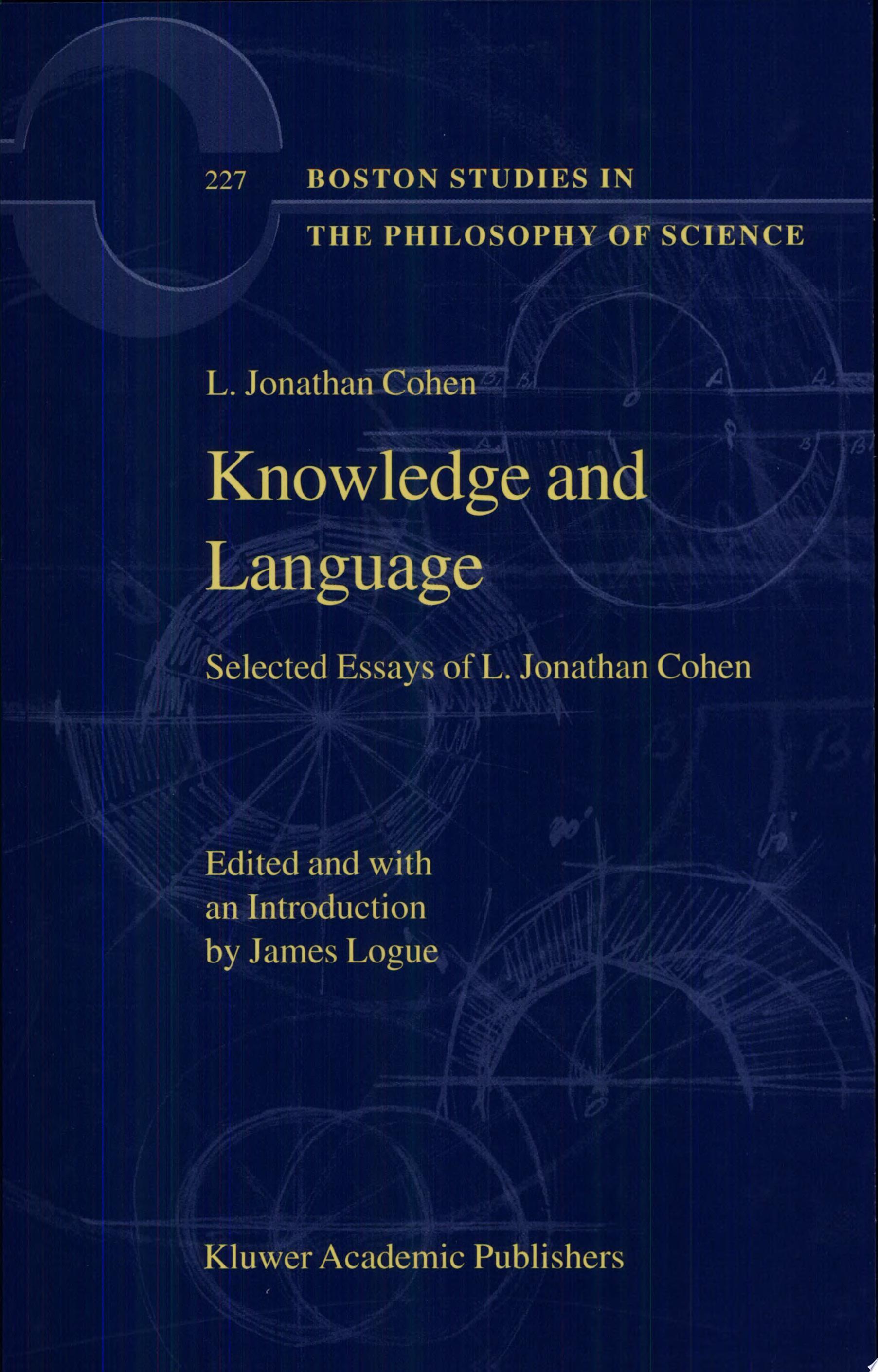 Knowledge and Language