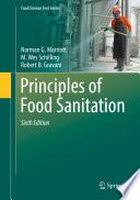 Principles of Food Sanitation