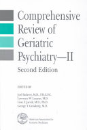 Comprehensive Review of Geriatric Psychiatry  II Book