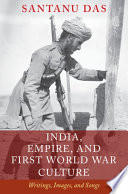 India Empire And First World War Culture
