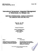 International Symposium Integrated Management Of Watersheds For Multiple Use