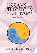 Essays on Philosophy and Physics Book