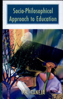 Socio-Philosophical Approach to Education