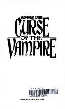 Curse of the Vampire Book