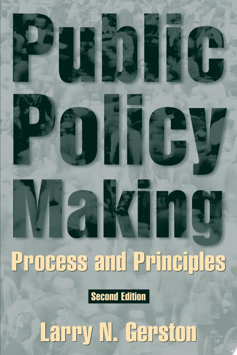 Public Policymaking in a Democratic Society banner backdrop