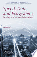 Speed  Data  and Ecosystems