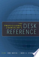 The Professional Counselor S Desk Reference