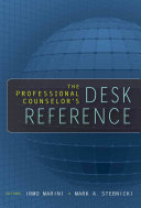 The Professional Counselor's Desk Reference