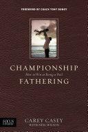 Championship Fathering Pdf/ePub eBook