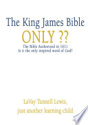 The King James Bible Only