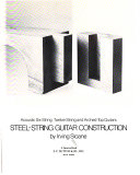 Steel String Guitar Construction