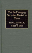 The Re emerging Securities Market in China Book
