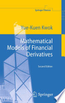 Mathematical Models of Financial Derivatives