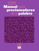 Manual para proclamadores de la palabra 2015