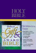 Deluxe Gift   Award Bible Book