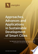 Approaches  Advances and Applications in Sustainable Development of Smart Cities