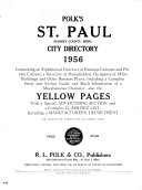 Polk s St  Paul  Ramsey County  Minn   City Directory