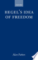 Hegel's Idea of Freedom