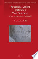 A Functional Account of Marathi's Voice Phenomena