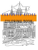 Fantastic Cities Coloring Book