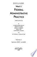 West's Federal Administrative Practice