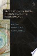 Regulation in India  Design  Capacity  Performance