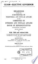 Hearings  Reports and Prints of the House Committee on Interior and Insular Affairs