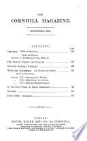 The Cornhill Magazine Book