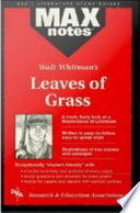 Leaves Of Grass Maxnotes Literature Guides