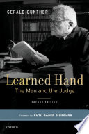 Learned Hand, The Man and the Judge by Gerald Gunther PDF