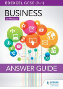 Edexcel GCSE (9-1) Business Answer Guide