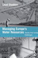 Managing Europe's Water Resources Pdf/ePub eBook